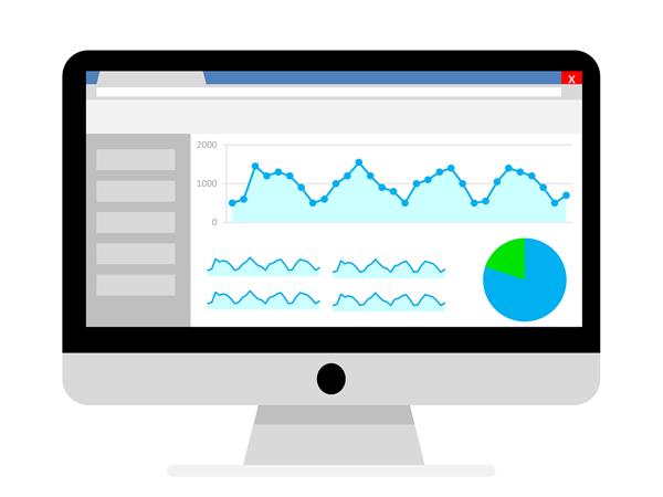 Check your website analytics with google analytics